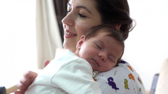 Bebeğinizi I Love You Masajı İle Sakinleştirin